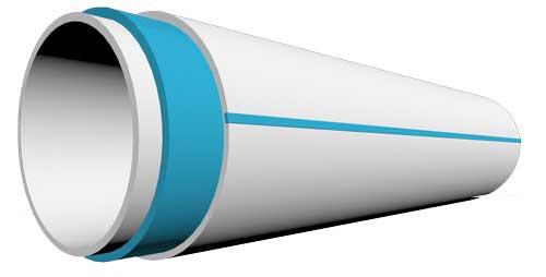 ساختار لوله و اتصالات سه لایه U-PVC