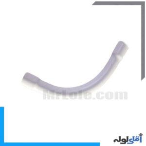 لوله خم برقی 90 درجه 30 سانتیمتر پلیمر گلپایگان
